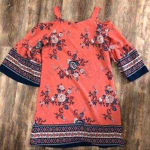 Amy's Closet floral girls dress Size 14